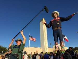 Doug booms Big Tex